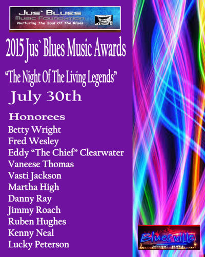 2015 Jus Blues Music Awards Week