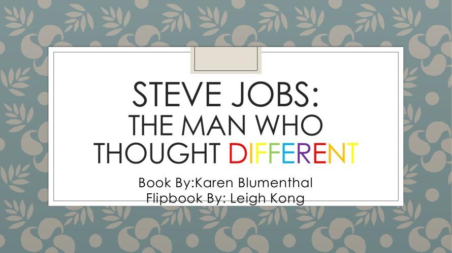 Steve jobs.pptx