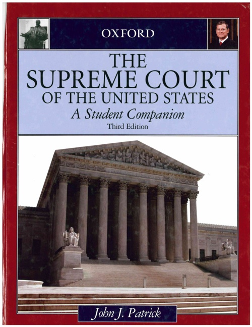 The Supreme Court of the United States-Cases A thru E
