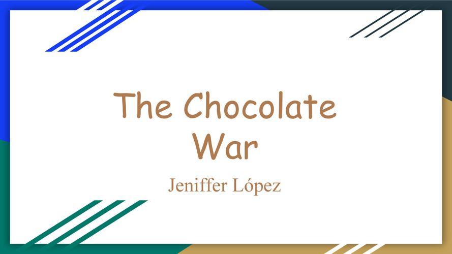 JENIFFER LOPEZ VILCHIS - Elements of Fiction