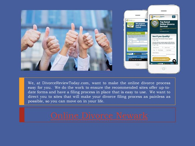 Online Divorce Newark