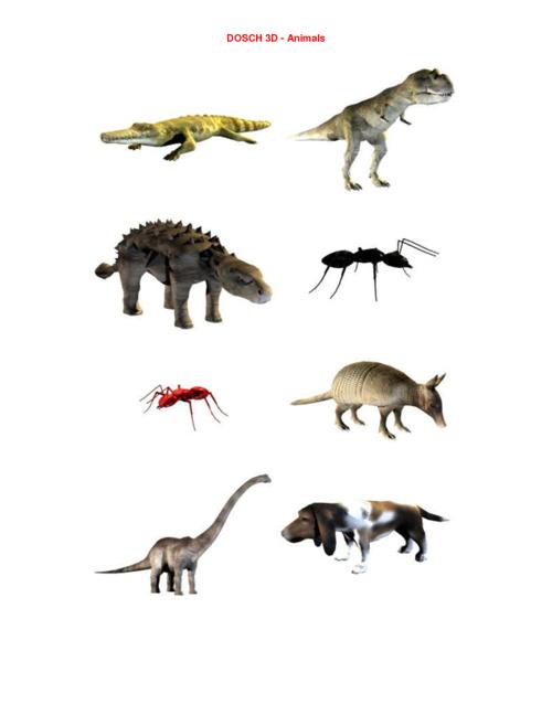 01_DOSCH 3D - Animals