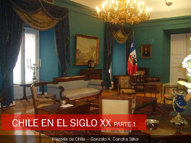 Chile Siglo XX y medio