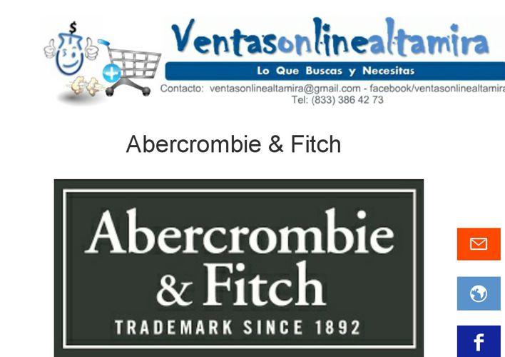 Catálogo Abercrombie & Fitch Caballero Modelos 2015
