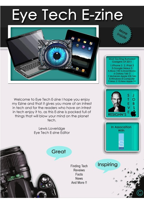 Eye Tech E-zine