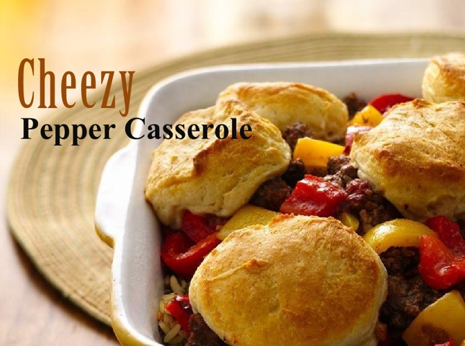 Cheesy Unstuffed Pepper Casserole