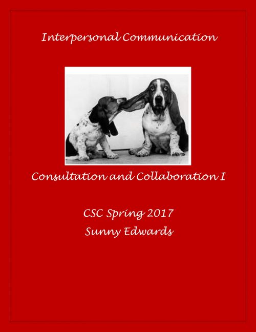 Interpersonal Communication Assign #9