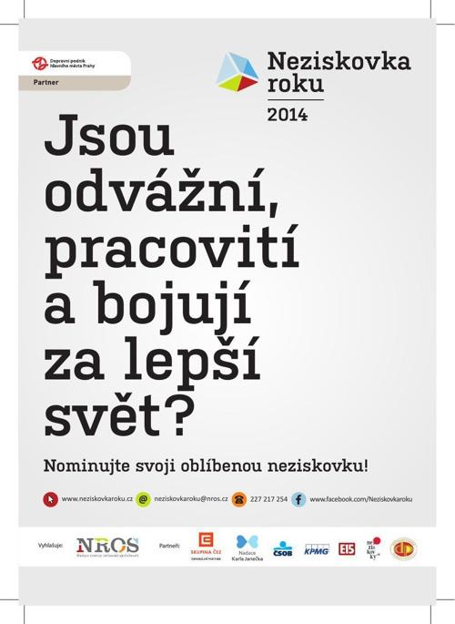 NROS - Neziskovka roku 2014