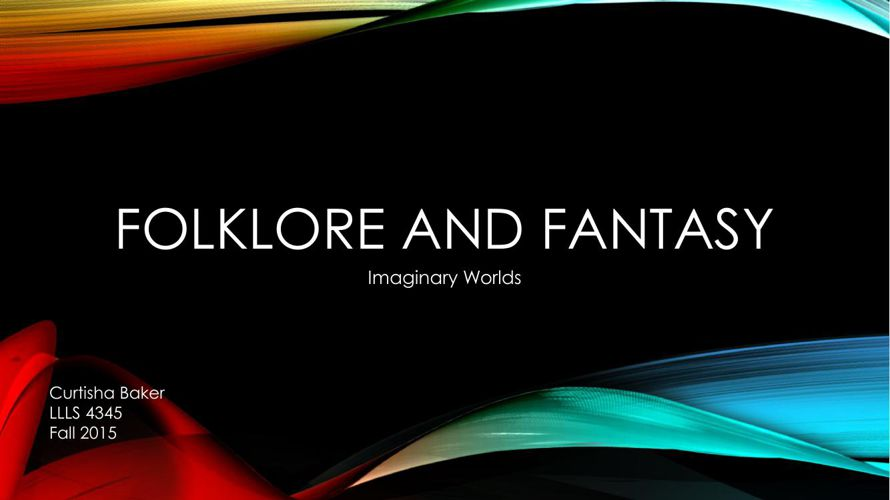 folklore and fantasy flipbook
