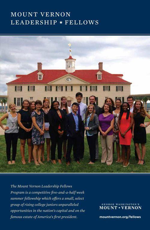 Mount Vernon Leadership Fellows