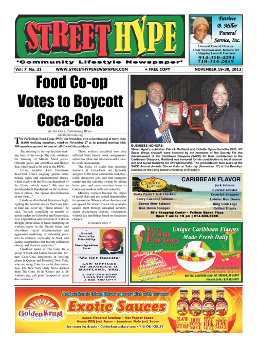 Street HYpe Newspaper - Nov 18-30, 2012 Issue