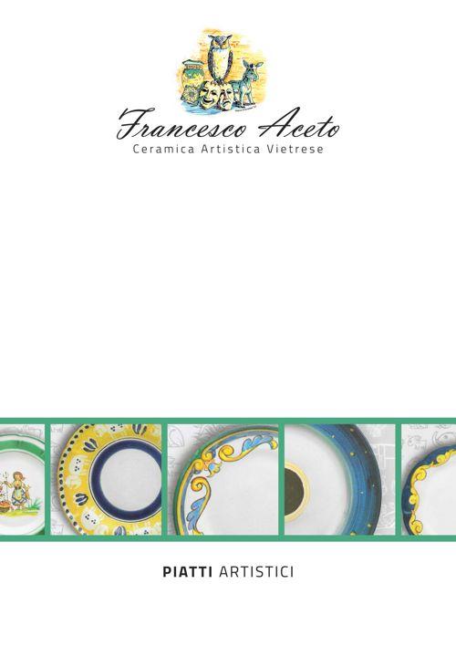 Ceramica Francesco Aceto catalogo piatti