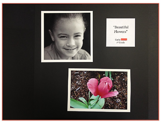 1st Grade Photography Project