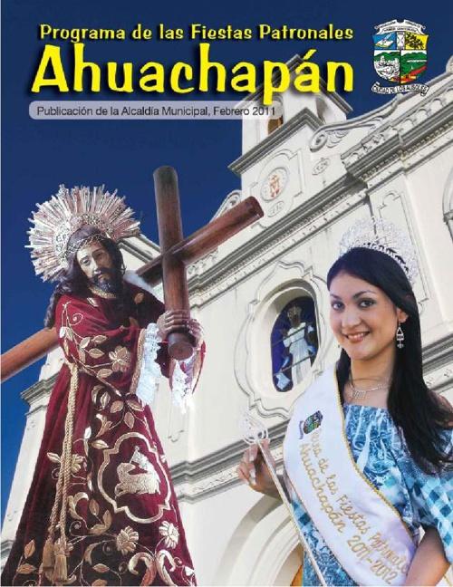 Programa de Fiestas patronales 2011