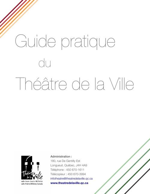 Guide pratique du Théâtre de la Ville