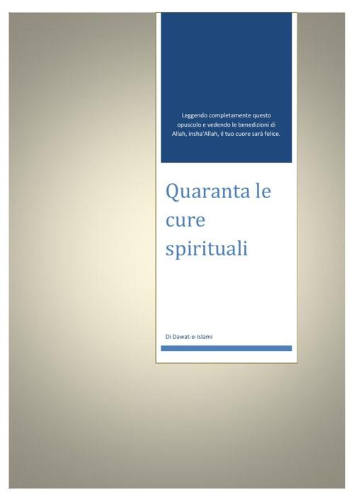 Quaranta le cure spirituali