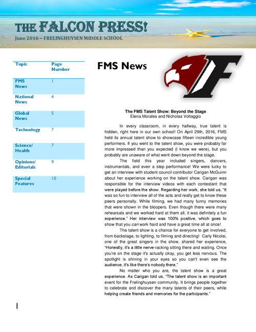 Falcon Press Edition 5