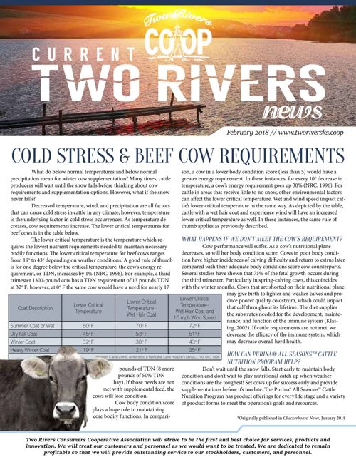 Current Two Rivers News | February 2018