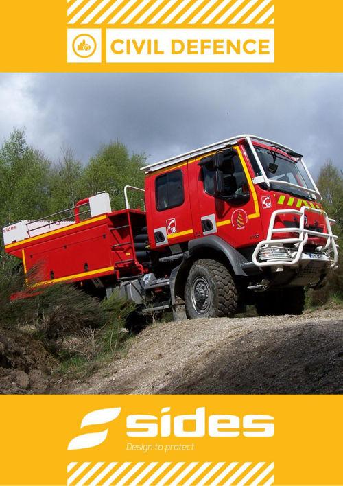 Civil defence brochure SIDES