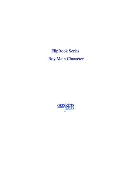 Outskirts Press Flipbook - Children's Series