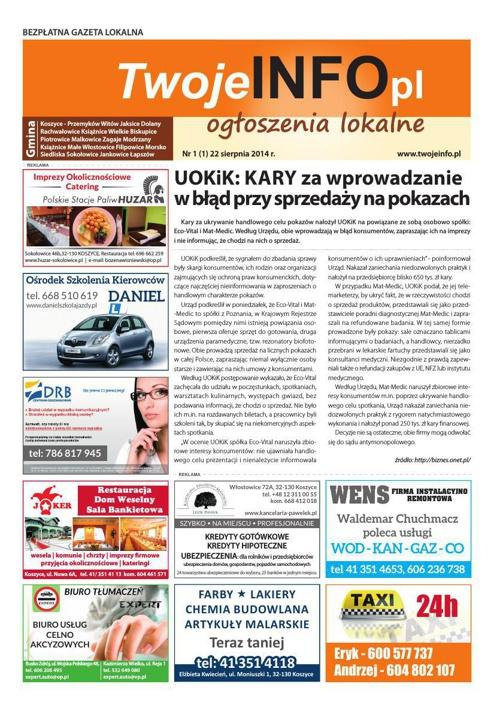 TwojeINFO.pl Nr 1