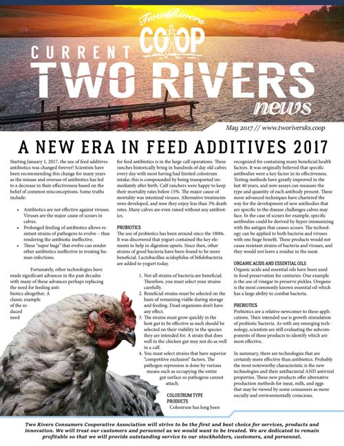 Current Two Rivers News | May 2017