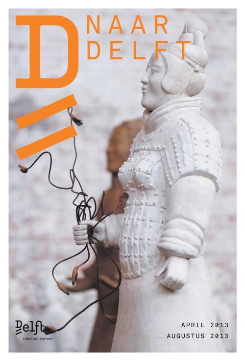 Naar Delft krant april 2013