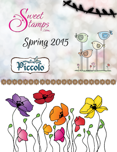 SweetStamps Spring Release catalog
