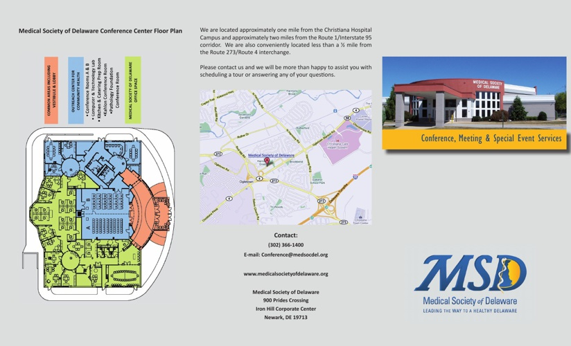 MSD Conference Center Brochure