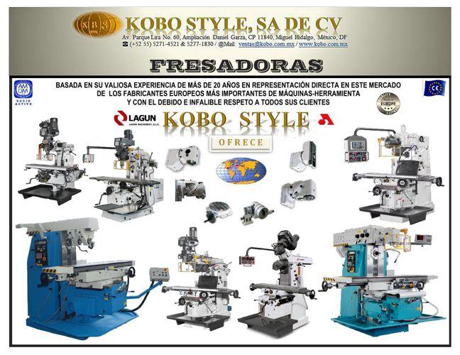 FRESADORAS_KOBO STYLE
