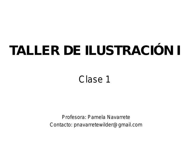 CLASE 1_REFERENTES ILUSTRADORES