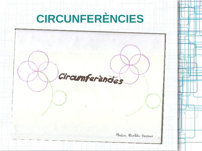 QUADERN DE CIRCUMFERÈNCIES