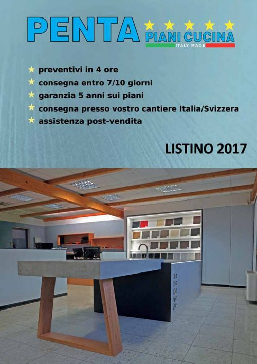 Pentastone - Listino 2017 (IT)