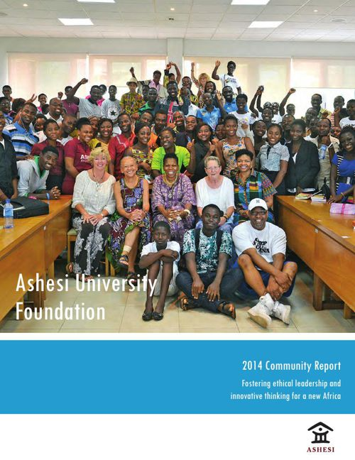 Ashesi 2014 Community Report