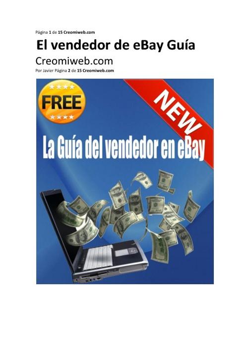 El vendedor de eBay Guía