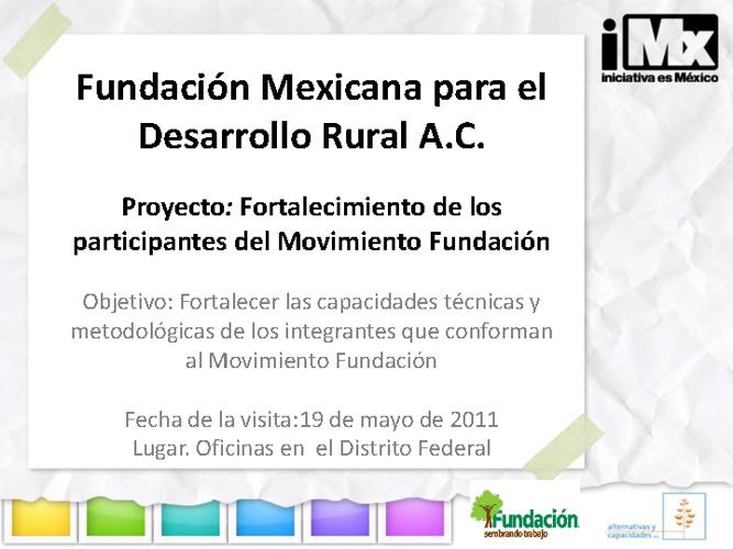 Fundación Mexicana Para el Desarrollo Rural