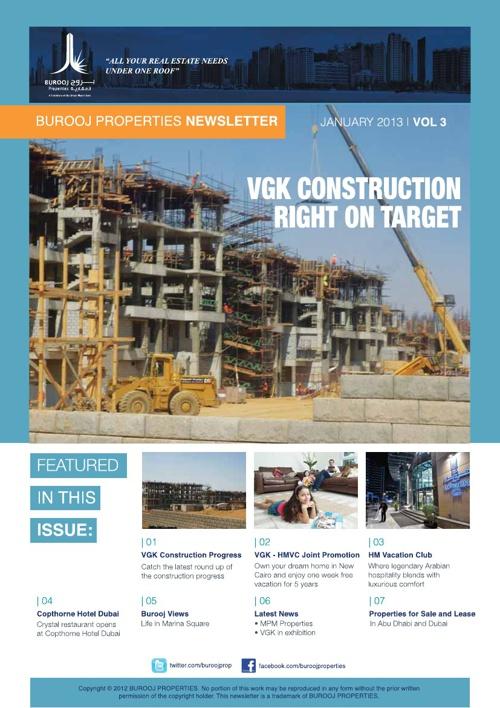 VGK Newsletter - Jan 2013