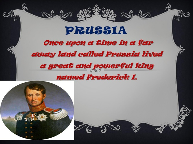 Prussia power Point