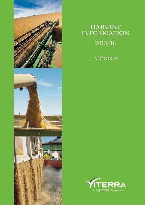 Viterra Harvest Information 2015/16 Victoria
