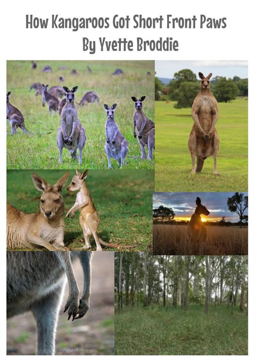How Kangaroos Got Short Front Paws