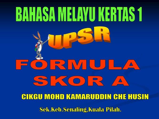 BM 1 UPSR