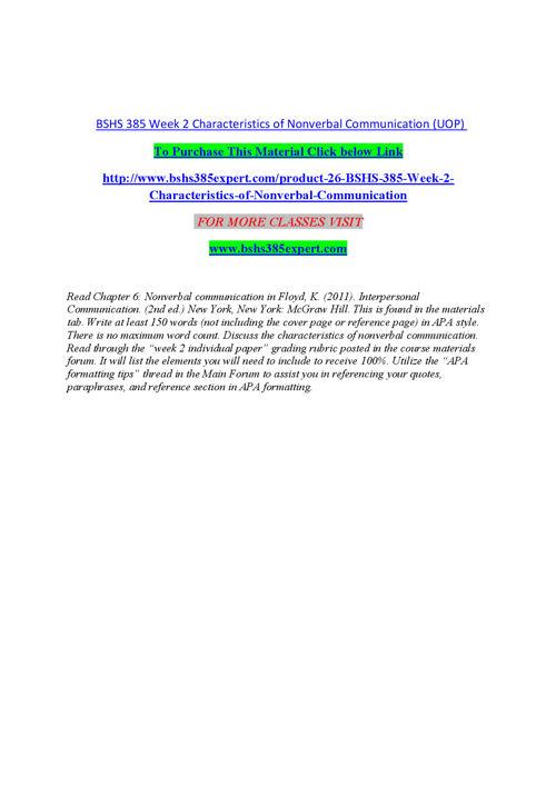 BSHS 385 EXPERT Peer Educator/ bshs385expert.com