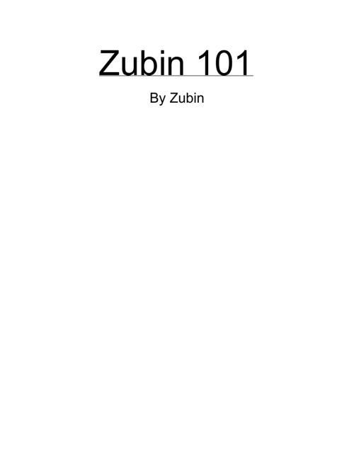 Zubin 101