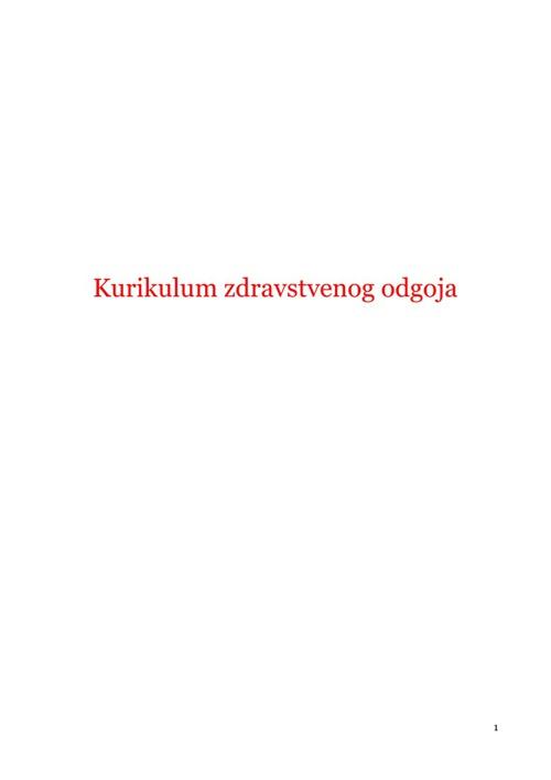 Kurikulum ZO
