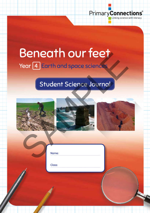 Beneath our feet - Student Science Journal