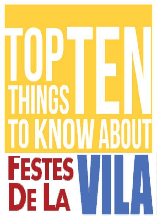 TOP TEN FESTES VILA