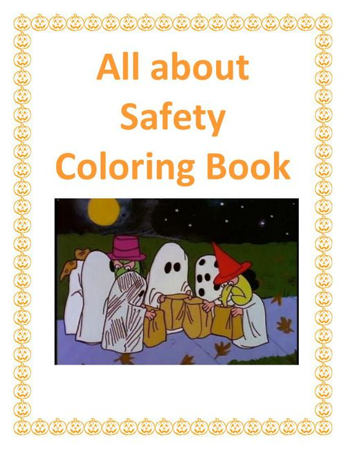 All Bout SAFETY Coloring book