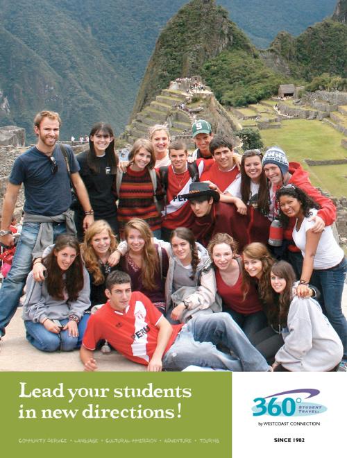 360° Student Travel Custom Groups