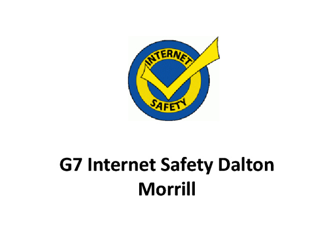 G7 Internet Safety Dalton Morrill