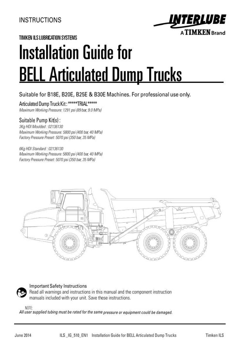 Bell ADT Manual
